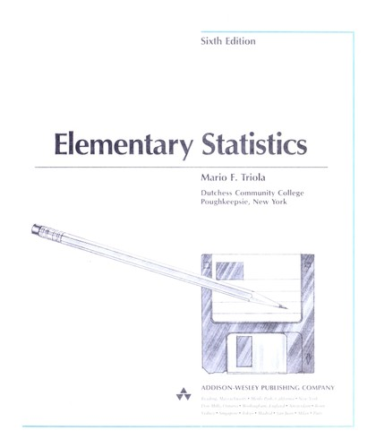 Elementary statistics (1995 edition) | Open Library