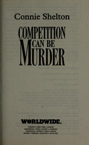 Cover of: Competition can be murder