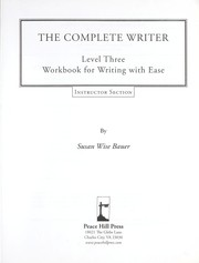 Cover of: Complete writer | S. Wise Bauer