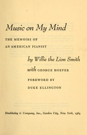 Cover of: Music on my mind