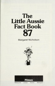 Cover of: The little Aussie fact book 87 | Margaret Nicholson