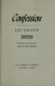 Ispovedʹ by Leo Tolstoy