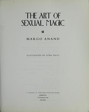 Cover of: The art of sexual magic