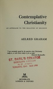Cover of: Contemplative Christianity | Aelred Graham