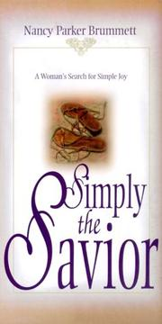 Cover of: Simply the Savior