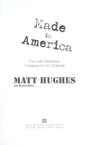 Cover of: Made in America | Matt Hughes