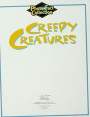 Cover of: Creepy creatures