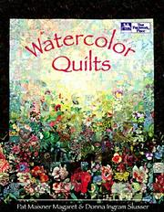 Cover of: Watercolor quilts