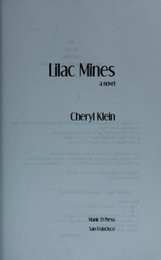 Cover of: Lilac mines | Cheryl Klein