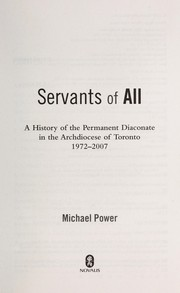 Cover of: Servants of all