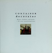 Cover of: Container Decorator | Stewart Walton