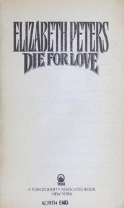 Cover of: Die for love | Eliza Peters