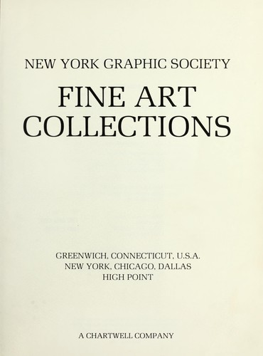 Fine art collections by New York Graphic Society.
