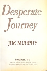 Cover of: Desperate journey