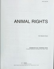 Cover of: Animal rights | Kim Masters Evans