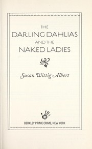Cover of: The Darling Dahlias and the naked ladies