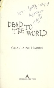 Cover of: Dead to the world