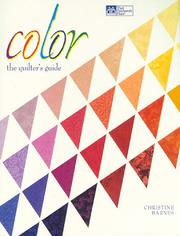 Cover of: Color | Barnes, Christine.