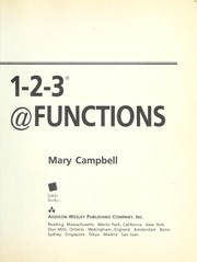 Cover of: The Lotus guide to 1-2-3 @ functions