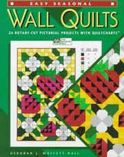 Cover of: Easy seasonal wall quilts
