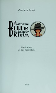 Cover of: La quatrie  me fille du docteur Klein