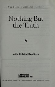 Cover of: Nothing but the truth | Avi