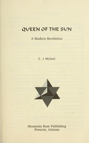 Cover of: Queen of the sun