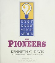 Cover of: Don't know much about the pioneers