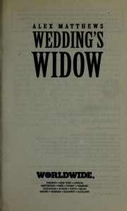 Cover of: Wedding's widow