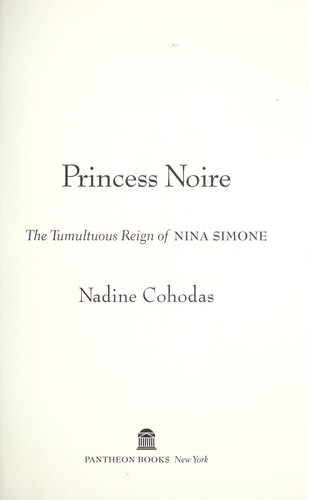 Princess Noire by Nadine Cohodas