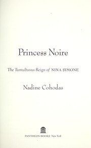 Cover of: Princess Noire | Nadine Cohodas