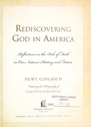 Cover of: Rediscovering God in America