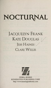 Cover of: Nocturnal | Jacquelyn Frank