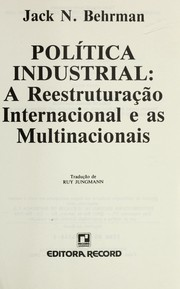 Cover of: Politica industrial