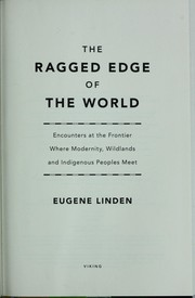Cover of: The ragged edge of the world