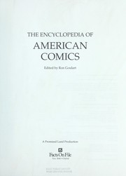 Cover of: The Encyclopedia of American Comics