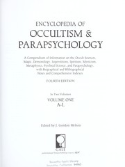 Encyclopedia Of Occultism & Parapsychology