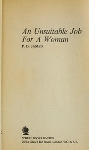 Cover of: Unsuitable Job for a Woman