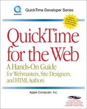 Cover of: QuickTime for the Web  | Steven W. Gulie