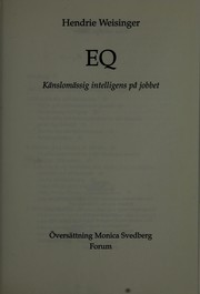 Cover of: EQ
