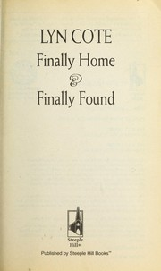 Cover of: Finally home
