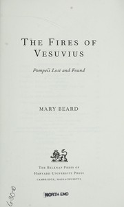 Cover of: The fires of Vesuvius
