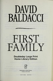 Cover of: First family