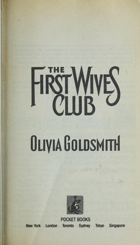 The First Wives Club 1993 Edition Open Library
