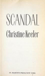 Cover of: Scandal