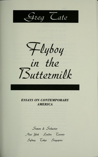 Flyboy in the buttermilk : essays on contemporary America by