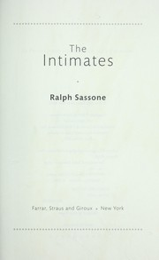 Cover of: The intimates | Ralph Sassone