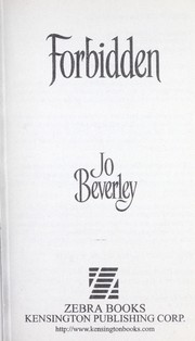 Cover of: Forbidden | Jo Beverley
