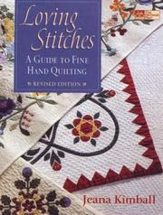 Loving stitches by Jeana Kimball
