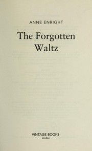Cover of: The forgotten waltz
